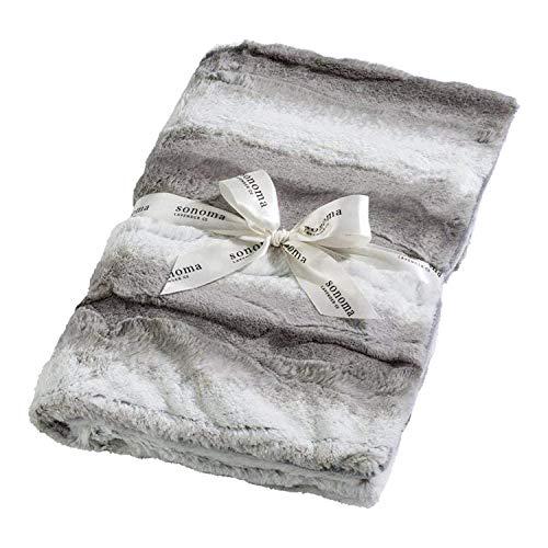 Sonoma Lavender Platinum Angora Lavender Spa Blankie