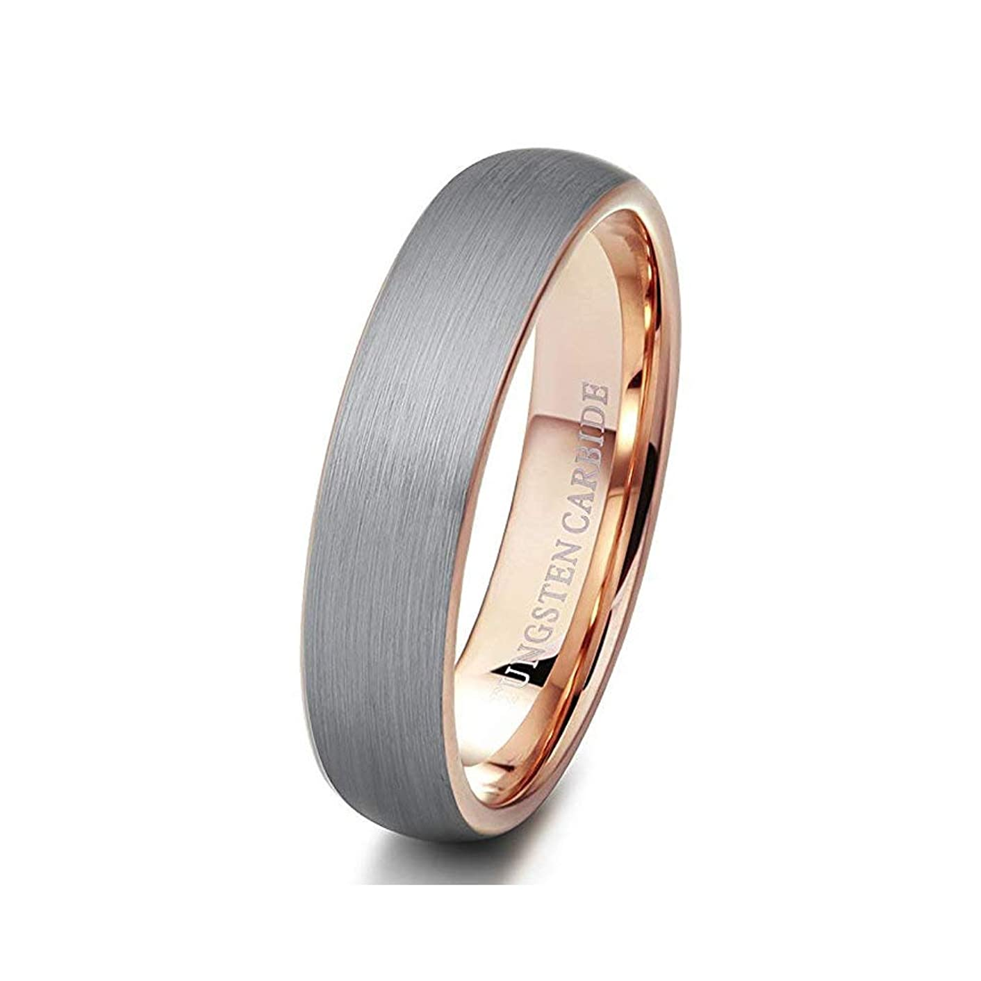 ELGNT Designs Impeccable 6mm Mens Wedding Band Ring | Tungsten Carbide Ring | Mens Wedding Ring | Mens Wedding Band |Promise Ring | Engagement Ring