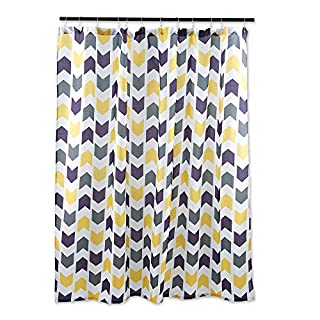 DII Oceanique Shower Curtain 100% Polyester, Machine Washable, for Everyday Use, Kids, Teens, Extra Bathroom, Main Bathroom 72x72, Multi Colored Tribal Chevron (B00N3R8UYA)   Amazon price tracker / tracking, Amazon price history charts, Amazon price watches, Amazon price drop alerts