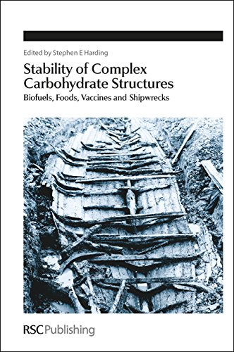 Stability of Complex Carbohydrate Structures: Biofuels, Foods, Vaccines and Shipwrecks (Special Publication) (Special Publications)