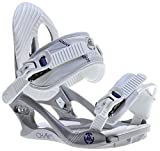 K2 Charm-Fijaciones De Snowboard para mujer, color Gris gris Talla:S