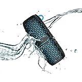 YDHWWSH Cassa Bluetooth Altoparlanti Portatili Impermeabili Stereo Altoparlanti Wireless Bluetooth con Altoparlante Audio Ultra Basso ad Alta fedeltà 17 * 6.6 * 6.3 cm Blu