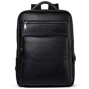 ビジネスリュック メンズ 本革 大容量 防水 父の日 プレゼント リュックバッグ 人気 ビジネス カジュアル兼用 SOONINSISS