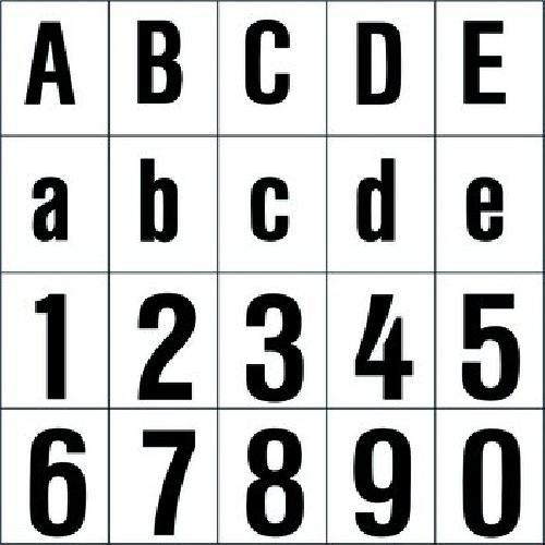 RZB Zimmermann Ziffer sw 120mm 99223.013.4 f.d.superflache HNL Beschriftung für Hausnummernleuchte 4010319325547