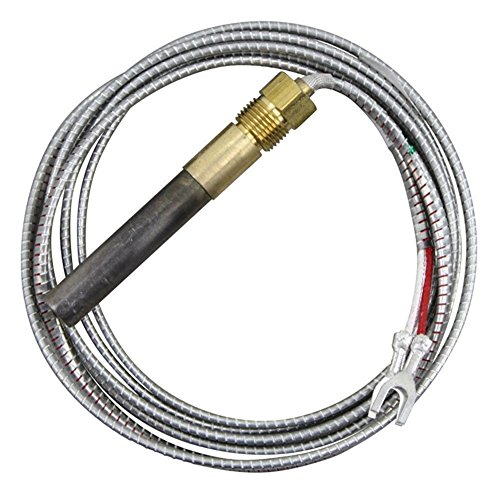 "Two Lead Thermopile 72"" Replacement for Bakers Pride M1265x Armored"