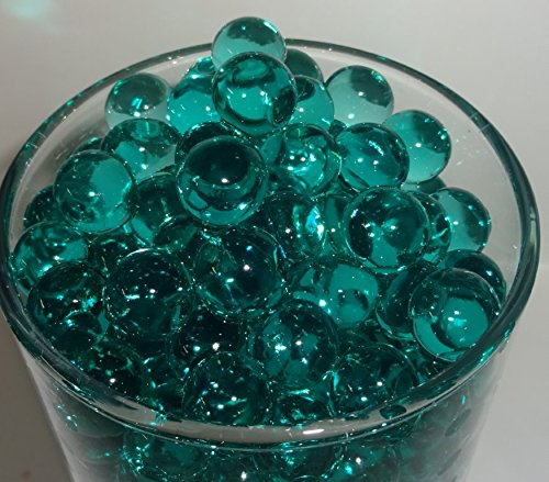 Water beads ( Teal ) - Water Absorbing & Expanding - All Event Vase Filler Centerpiece Decorations