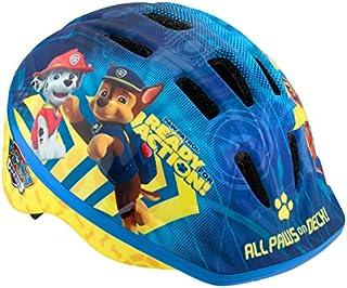 Nickelodeon Paw Patrol Kids Bike Helmet, Toddler 3-5 Years, Adjustable Fit, Vents, All Paws Blue