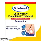Schollmed Once Weekly Fungal Nail Treatment, 5% Medicated Nail Lacquer, 2.5 ml