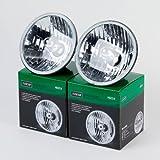 Nokya H6024 Sealed Beam Headlight Conversion 7' (178mm) H4 Quantity=1 Pair