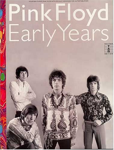 Pink Floyd: Early Years-Music Book