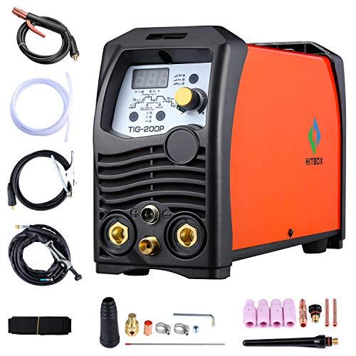 220V 180A Soldador TIG Inversor de impulsos IGBT Stick TIG Soldadora digital...