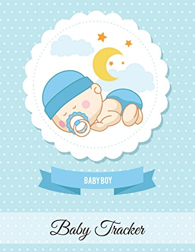 Baby Tracker: Log Book for Baby Activity: Eat, Sleep and Poop and Record Baby Immunizations and Medication: 2 (Baby Health Record Journal Book)