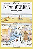VINTAGE NEW YORKER Notebook Journal: 120 lined pages to write on - Cover image from vintage 1976 New Yorker Magazine