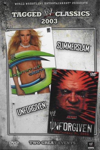 Tagged Classics 2003: Summerslam/Unforgiven [DVD] (2008) Wwe (japan import)