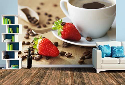 Premium Foto-Tapete Feiner Kaffee Genuss (versch. Größen) (Size L   372 x 248 cm) Design-Tapete, Wand-Tapete, Wand-Dekoration, Photo-Tapete, Markenqualität von ERFURT