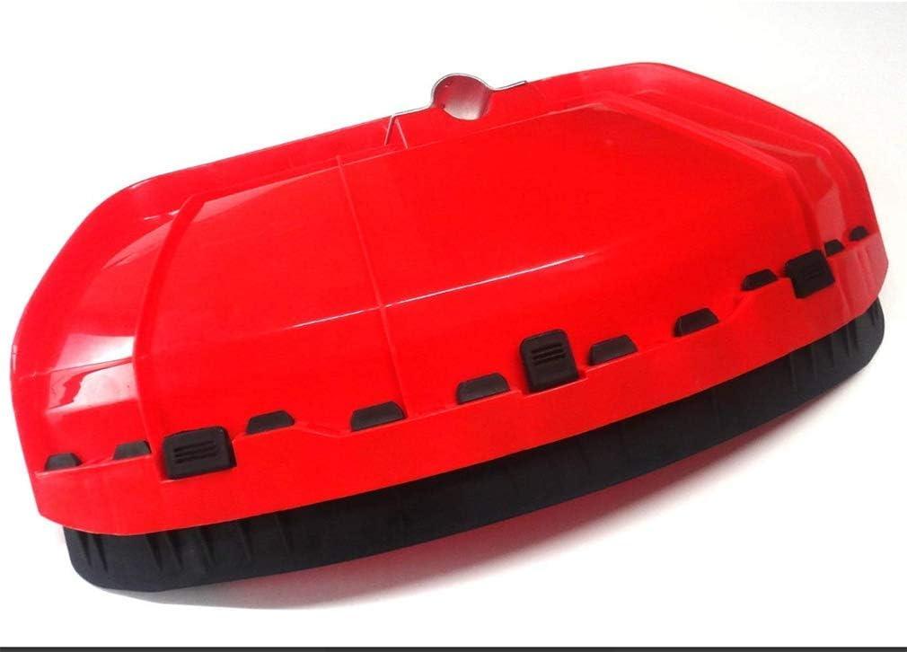 LINSUNG Producto Universal fácil de Instalar Cortacésped Protector contra Salpicaduras protección cortacésped Salpicadura de gravilla Luxury