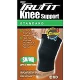 TruFit Elasto-Preene Knee, Black SM/MD