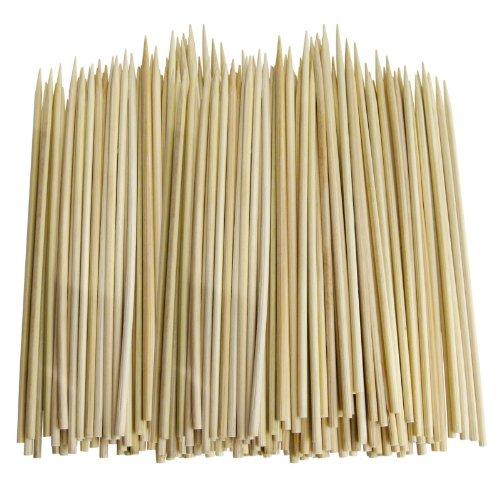 100 Holz Bamboo BBQ Schokoladenbrunnen Fondue-Spieße