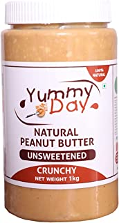 Yummyday Natural Peanut Butter Crunchy (1 KG)
