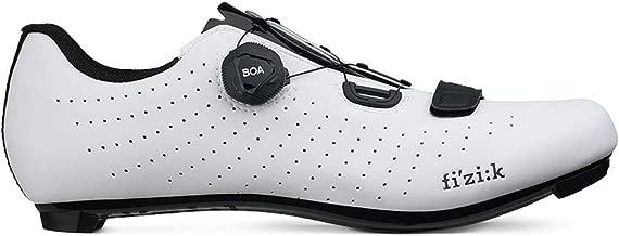 Fizik Men's Tempo R5 Overcurve Road Cycling Shoes - White/Black (White/Black - 41.5)