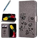 Robinsoni Cover Compatibile con Huawei Y5 II Case Scintillare Glitters Lucido Portafoglio ...