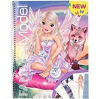 Top Model CREA tu Libro de Colorear, Fantasy Model (0010726), Multicolor (DEPESCHE 1)