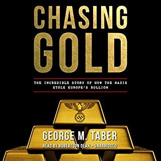 Chasing Gold audiobook cover art
