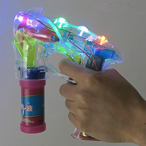 UNIENTERPRISE(ユニエンタープライズ)『Patymo光る!LEDバブルガン(電動シャボン玉ピストル/音無し)(03888B)』