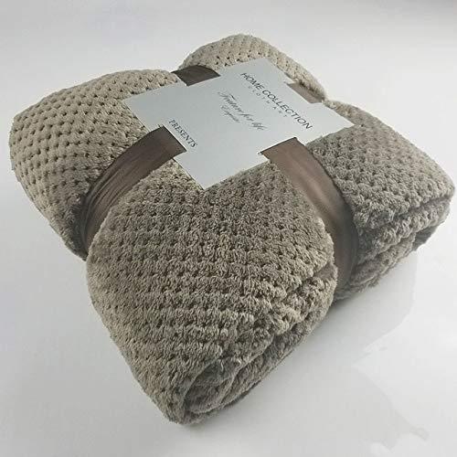 Deken New Style winterflanel deken Soft Fluffy Verdikke nerts werpen warm beddengoed sofaovertrek sprei deken op bed 100x150cm F