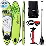 "THRIVE Stand Up Paddle Board 10.4"" Grün aufblasbar iSUP im Set, 315 x 79 x 15 cm"