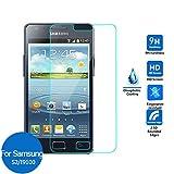 MUNDDY Protector de Pantalla para Samsung Galaxy S2 I9100 Cristal Vidrio Templado Espesor 0,30 mm, 2.5D Round Edge, [9H Dureza] [Alta Transparencia] [Sin Burbujas] [Ajuste