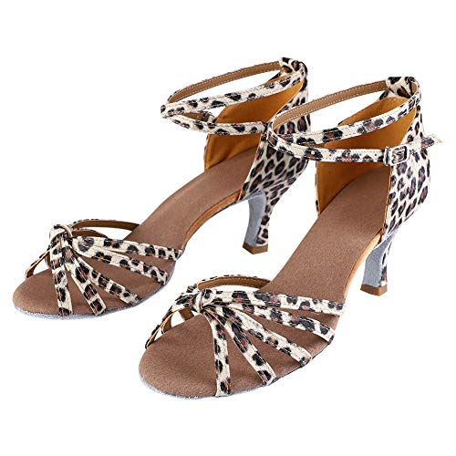 Nikou Zapatos Latinos 2 Colores Zapato de Baile 4 tamaños Zapatos de...