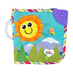 Includes discovery mirror, chewy corner, and multiple textures to explore Soft discovery pages feature friendly characters Bright colours, different textures and crinkle awaken baby's senses