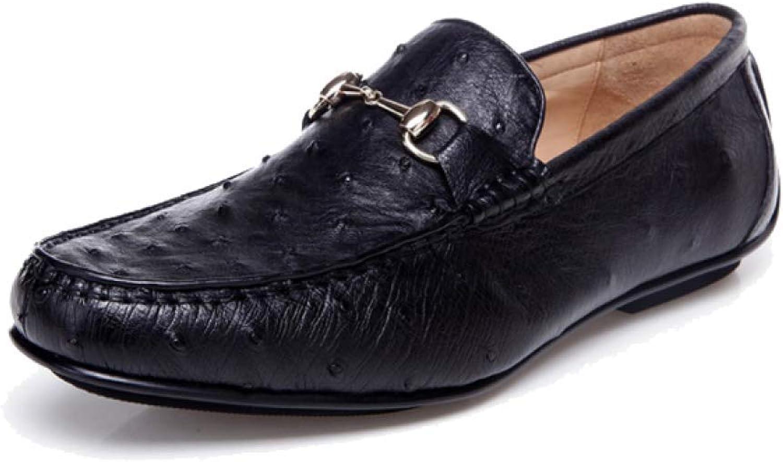 High-End-Custom Casual Lederschuhe Lederschuhe Lederschuhe der Zufälligen Handgemachten Männer Runde Kopf-Faule Shoes B07GMFWCBK  20c5cb