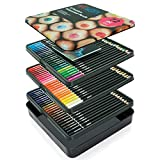 Artworx 72 Premium Watercolour Colouring Pencils Set - Coloured Art Pencils For Adults