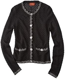 Missoni for Target Sweater Cardigan Jacket Famiglia Black