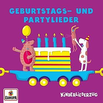 Kinderliederzug - Geburtstags- und Partylieder