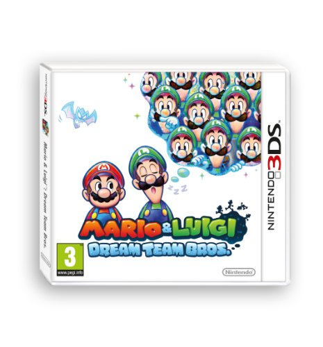 Mario & Luigi: Dream Team [Importación italiana]