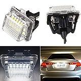 Zesfor Luces de matr/ícula LED para Mercedes GLK X204 2007-2013