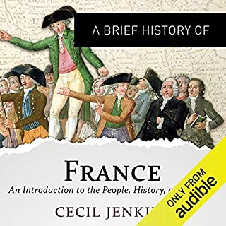 A Brief History of France audiobook cover art