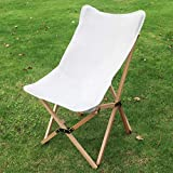 Benewin Camping Folding Wood Chair- Portable Outdoor Picnic Chair, Foldable Wooden Chair in a Bag...