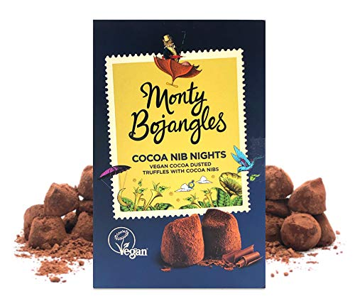 Monty Bojangles Vegan Cocoa Dusted Truffles Cocoa Nib Nights 180g Gift Boxes