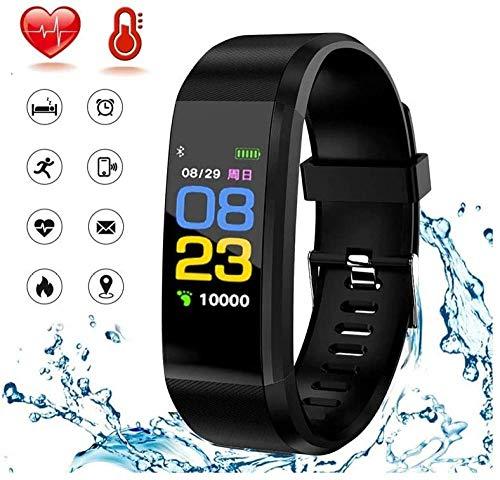 YAYY Fitness Tracker Fitness Horloge Activiteit Tracker Met Bloeddruk Hartslagmeter Waterdicht Smart Polshorloge met GPS Step Counter Stappenteller voor Vrouwen Mannen (Upgrade)