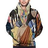 Avatar The Last Airbender/The Legend of Korra - Sudadera con capucha para hombre con estampado 3D...