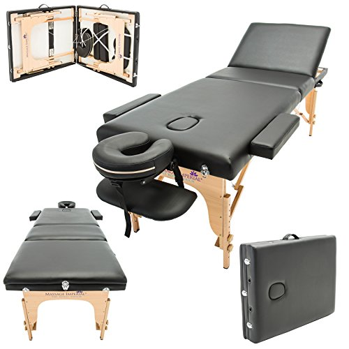 Massage Imperial® - tragbare Profi-Massageliege Arlington -...