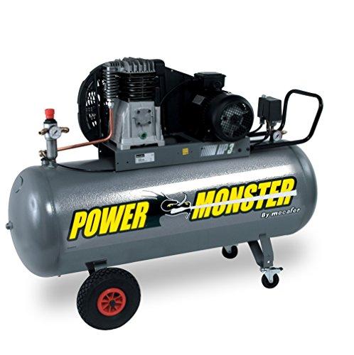 Power Monster - Compresseur d'air monophasé, 200L 3hp