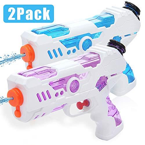 Zaloife Pistolet à Eau à Longue Portée pour Enfants, Water Gun pour Enfant Adulte, Suqirt Gun Haute Capacité...