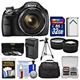 Sony Cyber-Shot DSC-H400 Digital Camera with 32GB Card + Case + Battery/Charger +...