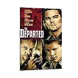 The Departed Filmposter, Leonardo DiCaprio & Matt Damon,