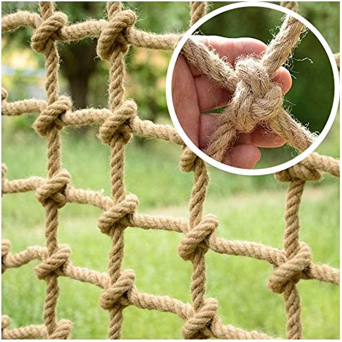 Hemp High quality new Rope Safety Net Cargo National uniform free shipping Balcony Stair Children Protectiv
